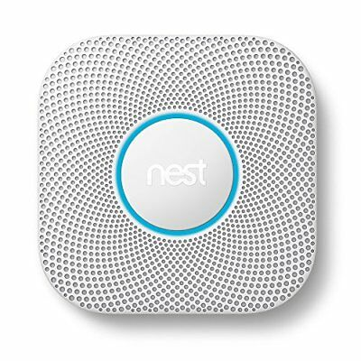 Nest Protect Smoke Carbon Monoxide Alarm Wired 2nd Gen Automatic Home Security