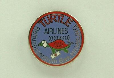 Pin Hubschrauber Helicopter Turtle Airlines crystal genève TTP