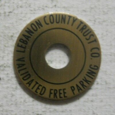 Lebanon County Trust Company (Pennsylvania) parking token - PA3545B