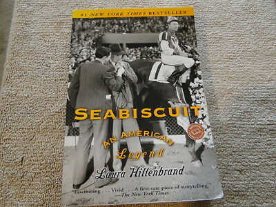 Seabiscuit : An American Legend by Laura Hillenbrand (2003, softcover) F512