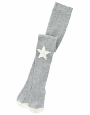 NWT Gymboree Starry Night Gray Grey Star Tights Toddler Girls Size 2T - 3T NEW
