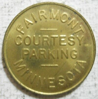 Fairmont, Minnesota parking token - MN3280A
