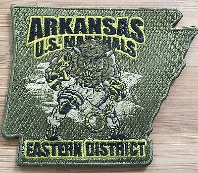US Marshals Service - ED of Arkansas SecondGEN OD/N - Genuine *Kokopelli Patch*
