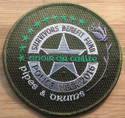 US Marshals Service - Pipes & Drums Police Week 2016 - Genuine *Kokopelli Patch*