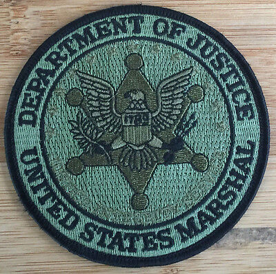 US Marshals Service - SEAL patch - OD version - Genuine *Kokopelli Patch*