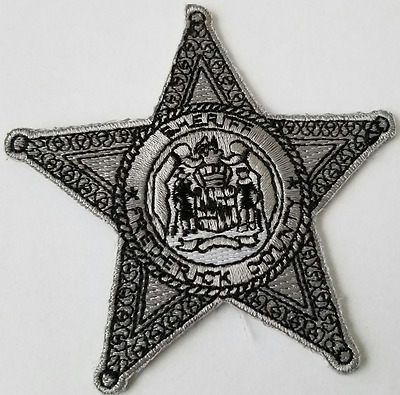 Sheriff Frederick County Cloth Patch