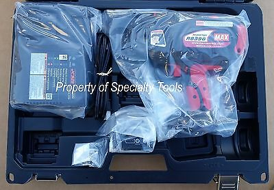 Max Usa Rb398 Cordless Rebar Tier 14.4V Battery Operated Re Bar Tying Tool