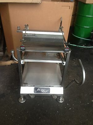 Face to Face Deli Buddy Meat Slicer Table Cart On Wheels PROFFESSIONAL SERIES