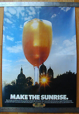 Jose Cuervo Tequila Sunrise poster - bar, etc