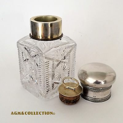 Antique Russian Silver Tea Caddy
