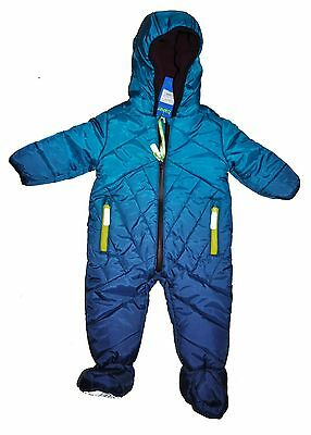 Ted Baker Baby Boy Snowsuit All In One Pram Suit Jacket 6-9 Months Bnwt
