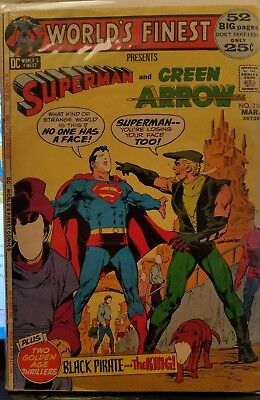 Worlds finest comics #210