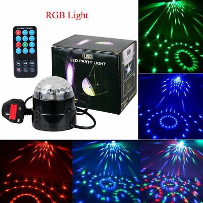 Disco DJ LED Lichteffekt Discokugel Magic Kristall RGB DMX Projektor Party Clubs