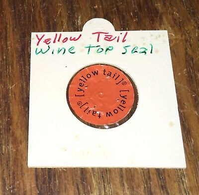 Yellow Tail Wine Top Seal, Vintage