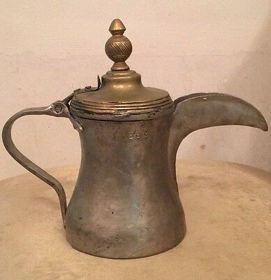 A very old Arabic   coffee pot    Antiquities dallah