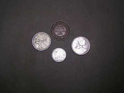 1911, 1957, 1960 Canadian Coins