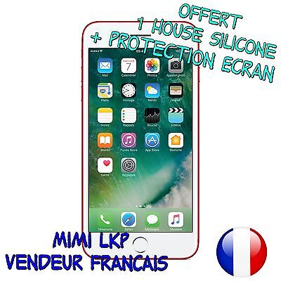 Goophone i7+ ROUGE écran 5'5, 4GB/32GB Android 3G smartphone Quad Core WIFI