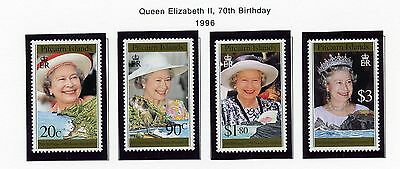 PITCAIRN ISLAND   MNH   446-49   QEII 70th Birthday       FT992