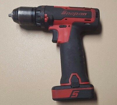 """SNAP-ON CDR761A 3/8"""" 2 Speed Drill Driver Set w/ 2.0Ah Battery CTB8172 FAST SHIP"""