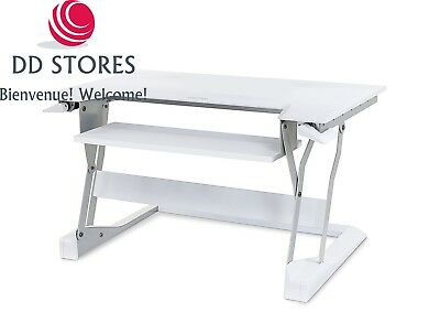 Ergotron Support/table WorkFit – Blanc