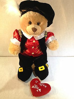 Build A Bear Romeo With Accessories