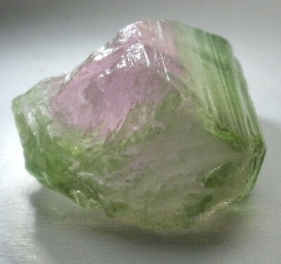 3.60cts Natural Watermelon Tourmaline Crystal Piece - Specimen/Polishing Rough