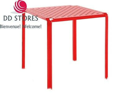Kartell AMI table, rouge