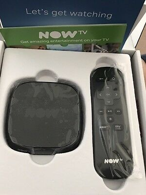 NOW TV Box Digital HD Media Streamer. No Movie Or Other Passes Included.