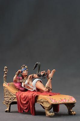 tin toy painted soldiers 54mm .Cleopatra