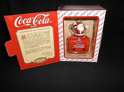 Enesco Coca-Cola Treasury Masterpiece Edition Ornament Twist & Shout Have A Coke
