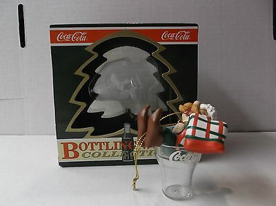 "Coca-Cola Bottling Works Collection Elf Ornament ""long Winter's Nap""  W/ Box"