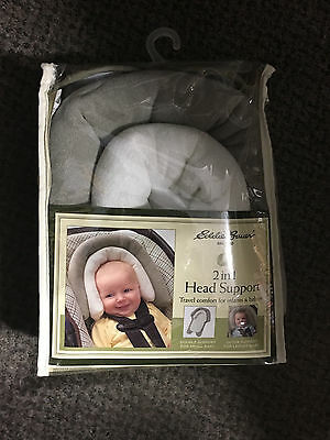 Eddie Bauer 2 in 1 Head Support (Travel Comfort for Infants and Babies