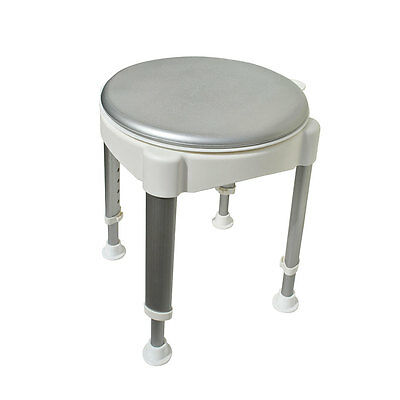 Aluminium Rotating Bath Shower Stool Step Disability Mobility Aid Assistance