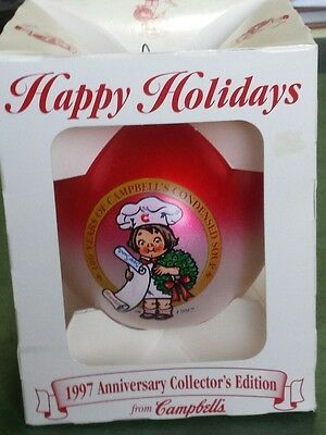 Campbell's Kids Ornament- 1997 Anniversary Collector's Edition-100 Years of Soup