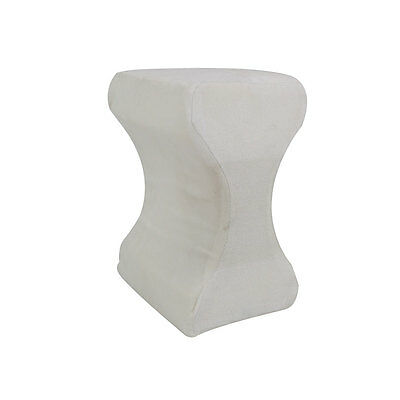 Contour Memory Foam Leg Pillow Orthopaedic Firm Back Hips Knee Support