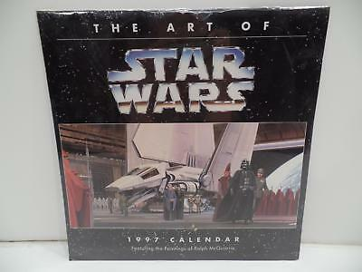 The Art Of Star Wars 1997 Calendar Product Paintings Ralph McQuarrie Cedco New