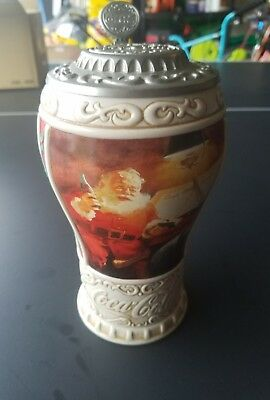 Coca Cola Good Girls and Boys Christmas Stein 1996 # D3565