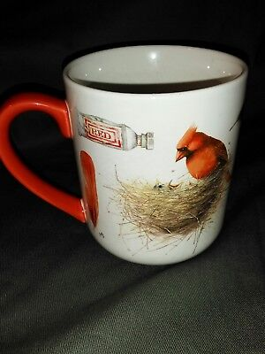 Hallmark Mug Natures Sketchbook RED Bird Mug by Marjolein Bastin
