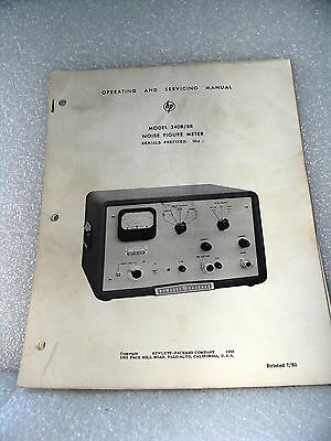 Agilent / HP 340B / 340BR Noise Figure Meter Operating & Service Manual
