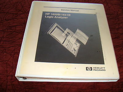Agilent / HP 1650A / 1650B Logic Analyzers Service Manual P/N 01650-90915