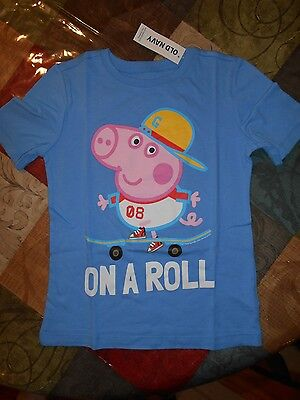 Old Navy Peppa Pig Girls/ Boys Tee Size 5T NWT