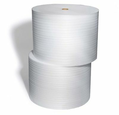 "Foam + Wrap 12"" – 24"" 70ft- 1250ft Moving Shipping Packing Protect Roll 1/8 1/16"