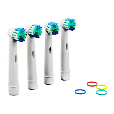 4 pcs Durable Ortho Electric Toothbrush Brush Heads for Braces/Orthodontics Gift