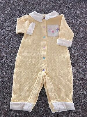 Baby Girl One piece 100% Cotton Outfit Size 0-3 Months