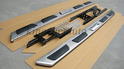 stainless steel running board side step Nerf bar suitable fit Audi Q7 2006-2015
