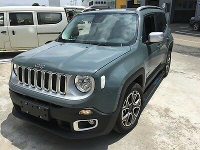 fit JEEP renegade 2015-2017 new style aluminium running board side step bar