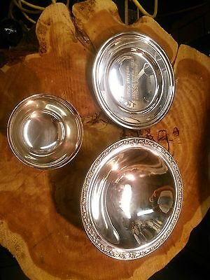 Vintage Silver Trophy,cup,candy Dish