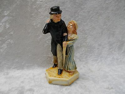 Vintage Sebastian Miniatures - Charles Dickens, Little Nell and Grandfather