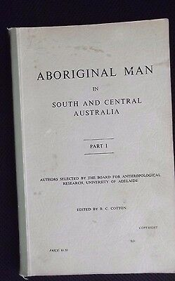 Aboriginal Man - South / Central Australia / Research University Adelaide 1966