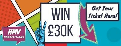 Win a House for just £5 or choose £30,000 cash and a car.